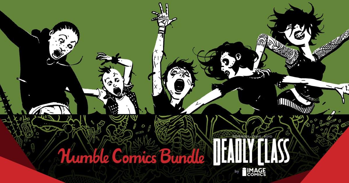 The Humble Comics Bundle: Deadly Class by Image Comics