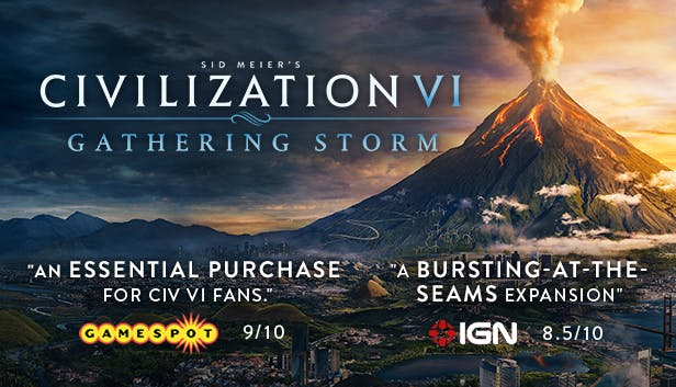 Buy Sid Meier's Civilization® VI: Gathering Storm from the Humble Store