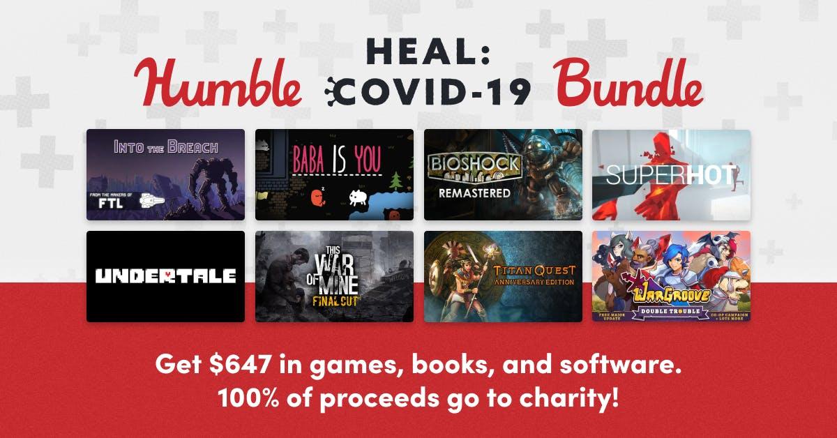 Humble Heal: Covid-19 Bundle