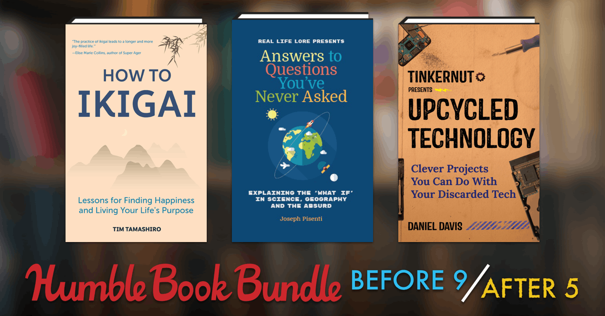 Humble Book Bundle: Before 9, After 5 (pay what you want and