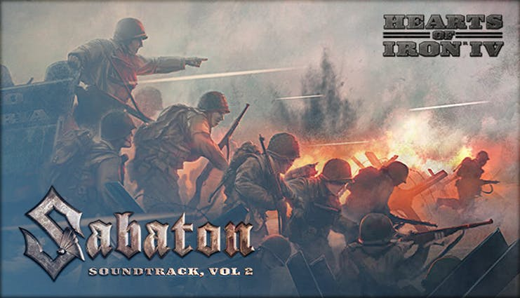 Buy Hearts of Iron IV: Sabaton Soundtrack Vol  2 from the Humble Store