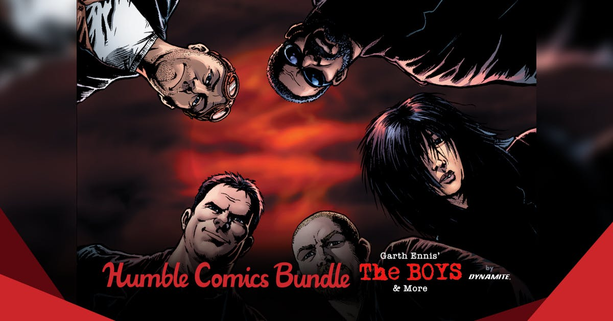The Humble Comics Bundle: Garth Ennis' The Boys & More by