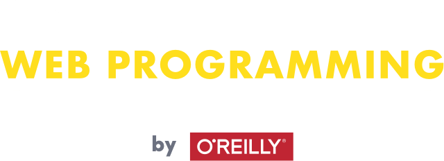 Humble Book Bundle: Web Programming by O'Reilly